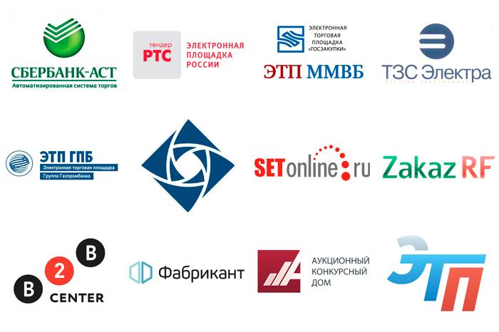 список электронных торговых площадок торги по банкротству